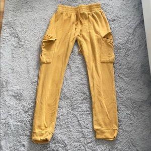 Pants - Yellow joggers